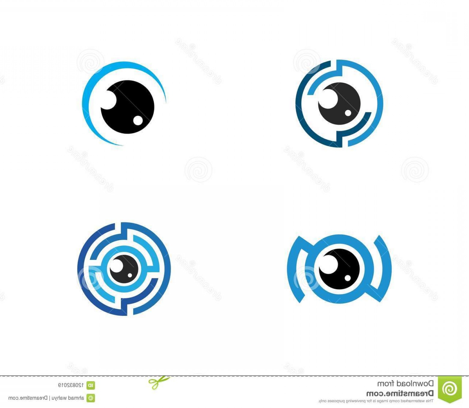 Eye Vector Logo: Eye Vector Logo Eye Vector Logo Design Image