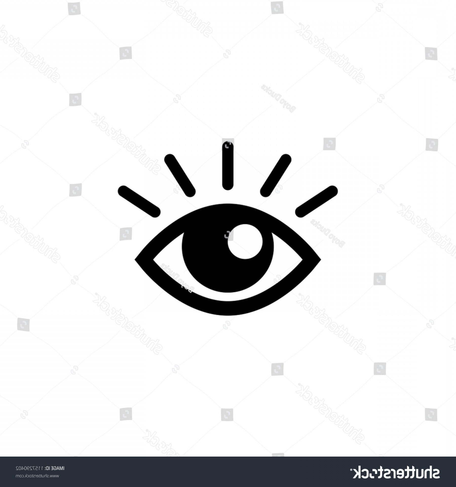Eye Vector Logo: Eye Vector Logo Vision Icon