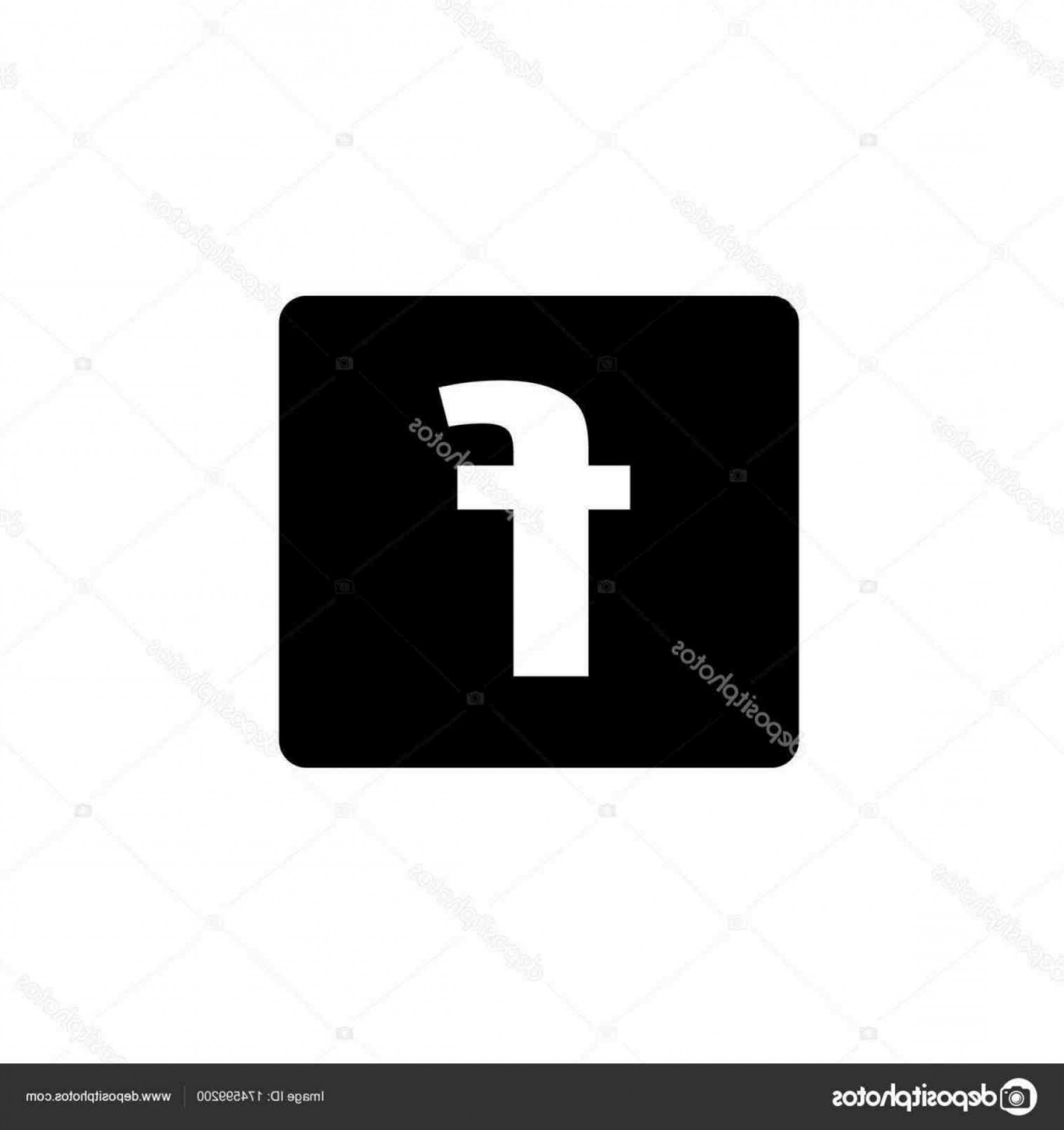 Facebook Logo Vector: Facebook Logo Vector Black And White