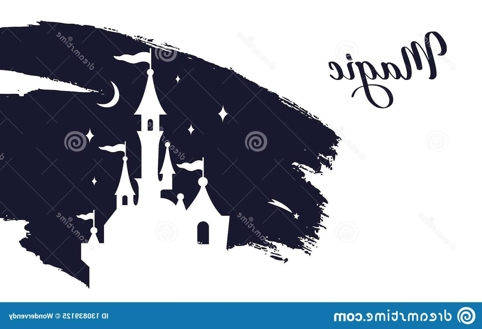 Wizard Silhouette Vector: Fairy Tale Vector Castle Silhouette Wizard World Fairy Tale Vector Castle Silhouette Wizard World Templates Interiors Decor Image