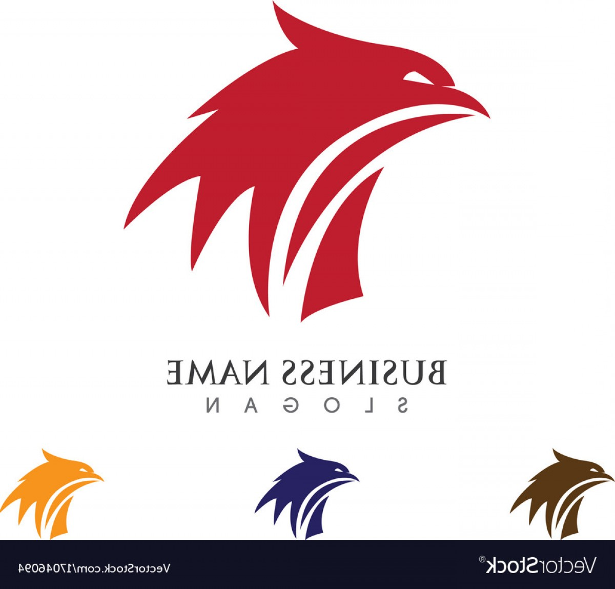 Falcon Wing Vector Art: Falcon Wing Logo Template Icon Design Vector