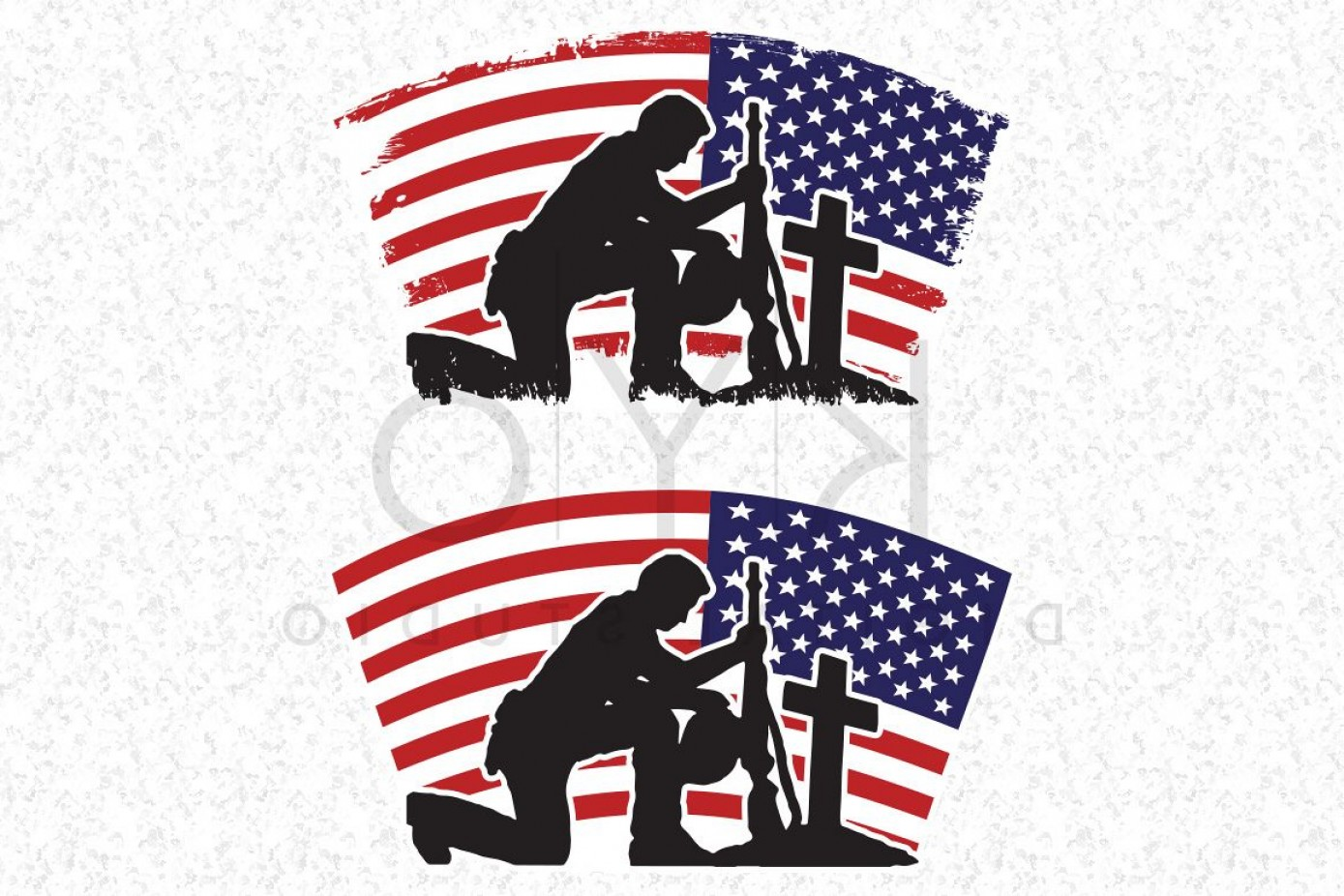 Distressed Flag Vector Digital: Fallen Soldier Svg Veterans Day Svg Dxf Png Eps Files American Flag Vector Us Flag Vector Image Military Flag Distressed Flag