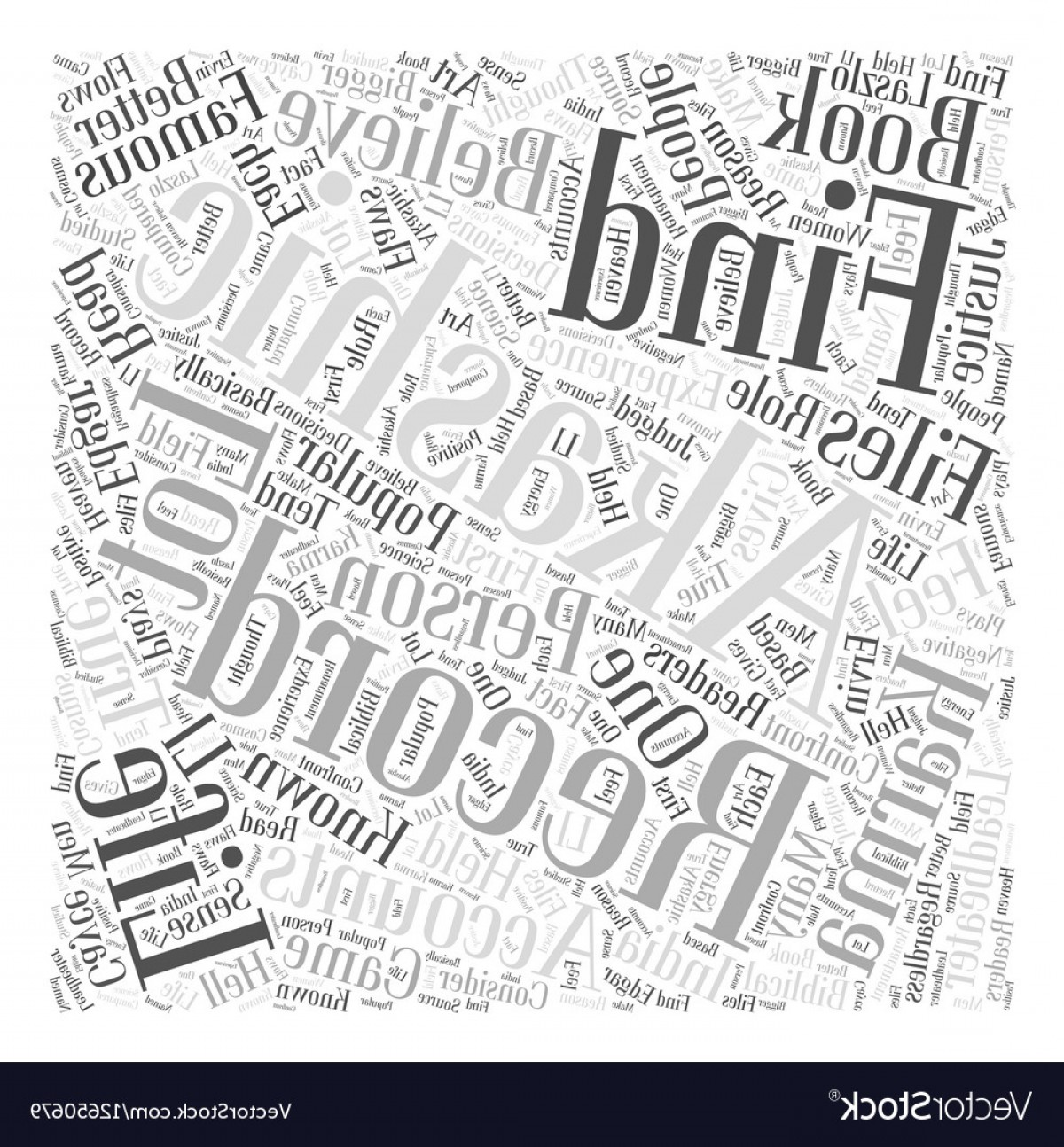 Vector Word Famous: Famous Files Of Akashic Records Word Cloud Concept Vector