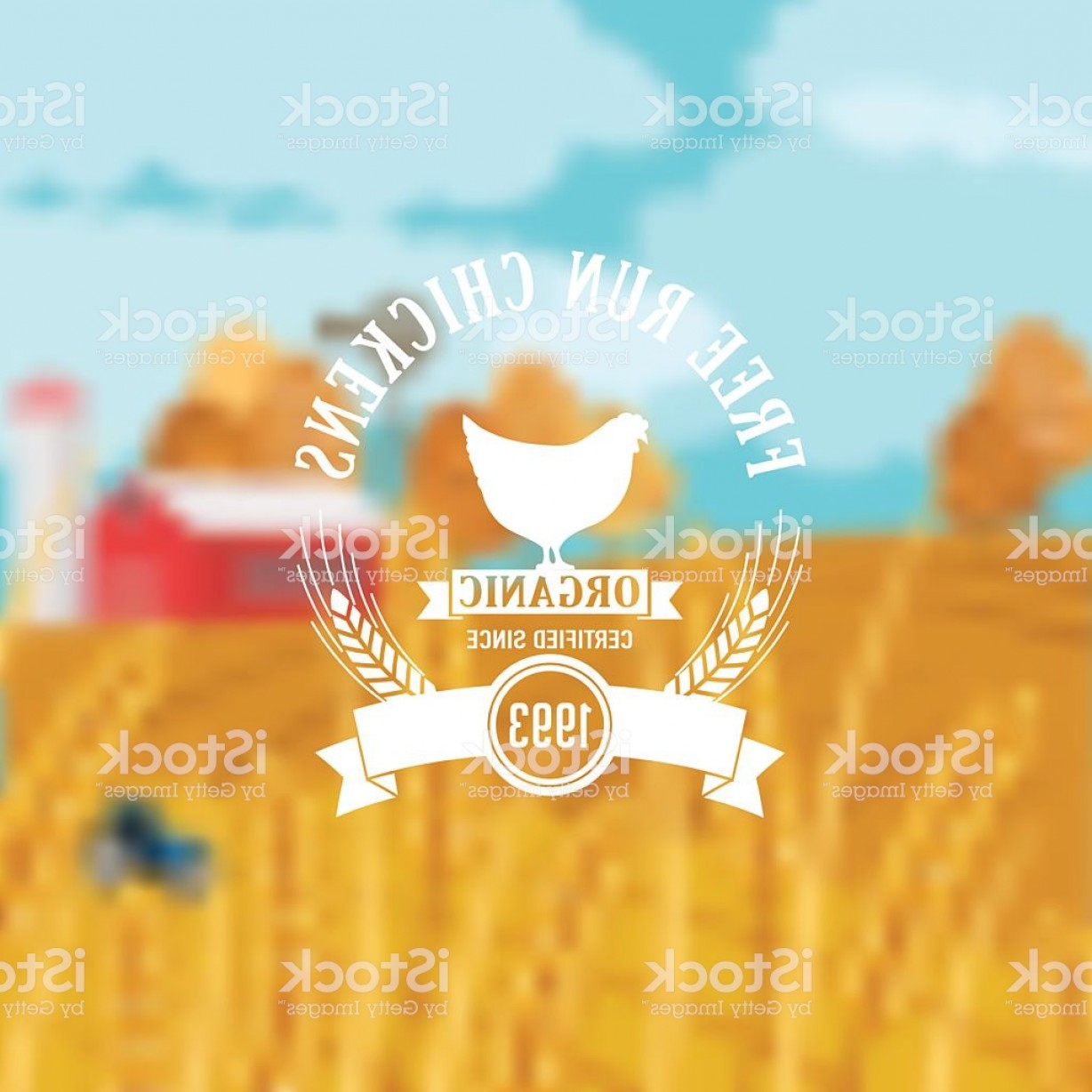 HDS Badge Vector Art: Farm And Agriculture Badge Or Label Gm