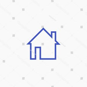 FB Icon Vector: Facebook Home Icon Vector Homepage Graphic