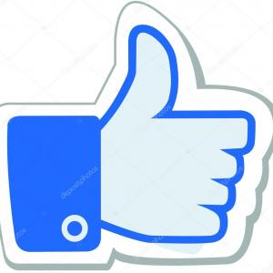 Facebook Button Vector: Facebook Vector Icon Button Facebook D Vector Illustration Facebook D Vector Icon Facebook Thumb Like Image