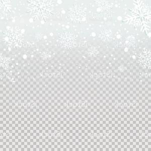 Snow Falling Vector Free: Falling Snow Snowfall Frame Decoration Vector