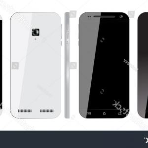 IPhone 8 Vector Front Back: Elegant Iphone Psd Vector Mockups