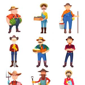 Redneck Family Vector Graphic: Top Cartoon Hillbilly With Rifle Photos