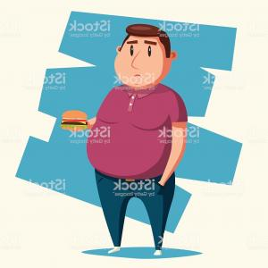 Fat Boy Logo Vector Art: Fat Boy Sliding Sprite Vector