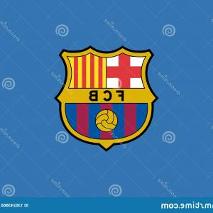Barcelona Logo Vector: Fc Barcelona Logo Editorial Vector Fc Barcelona Logo Editorial Vector Illustration Image