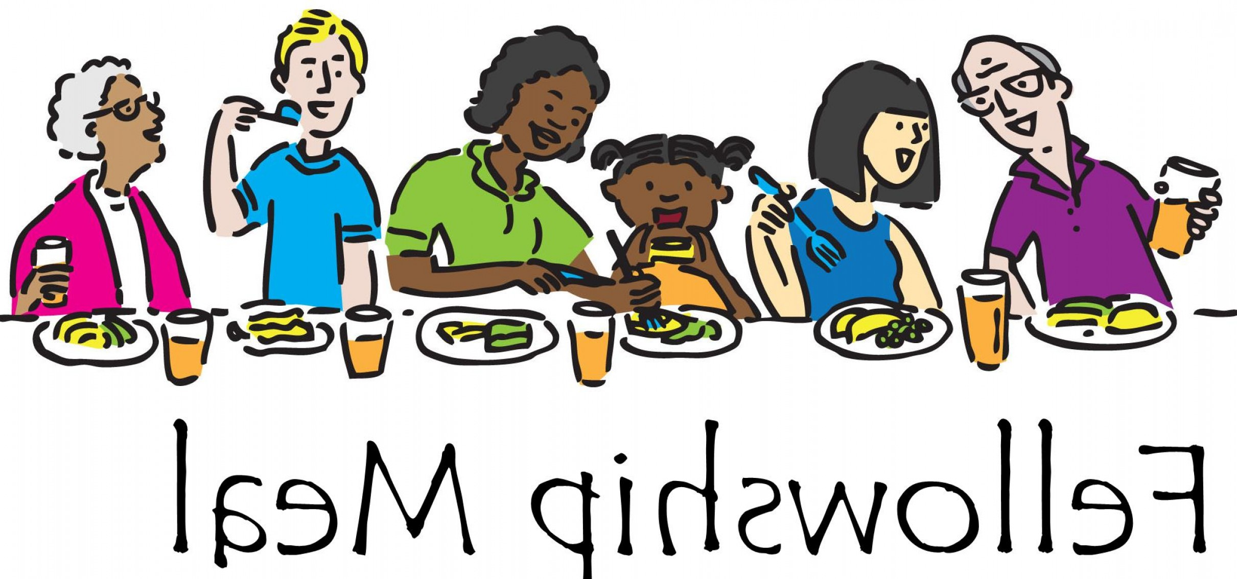 Committee Clipart -Vector: Fellowship Meals Planned Clipart Obmleo Clipart