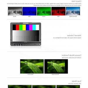 Waveform Vectorscope Software: Feelworld Fw Inch Ips X Seamless Switch Dual G Sdi Camera Top Monitor P