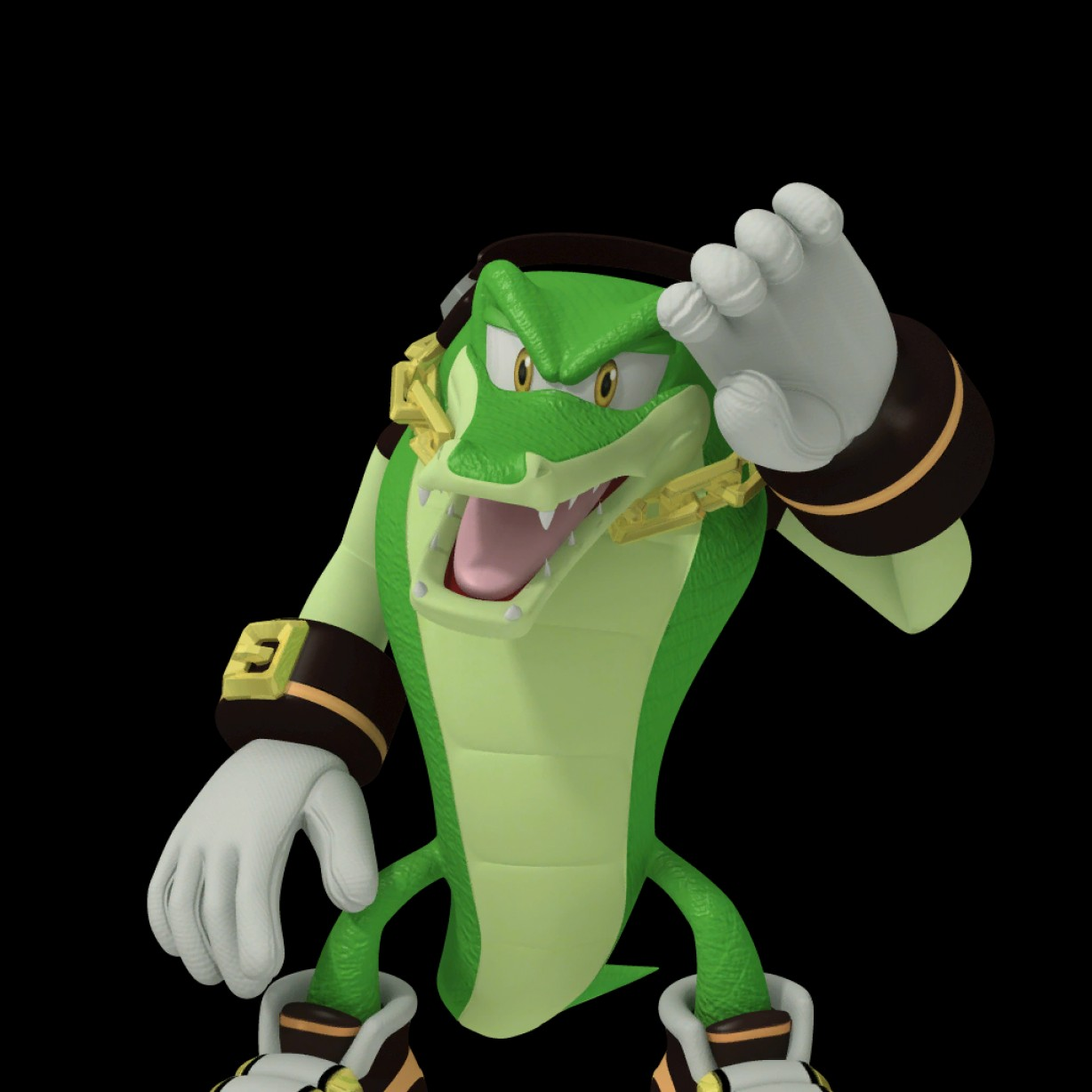 Vector The Crocodile Archie Toys: Filevector The Crocodile Sonic Free Riders