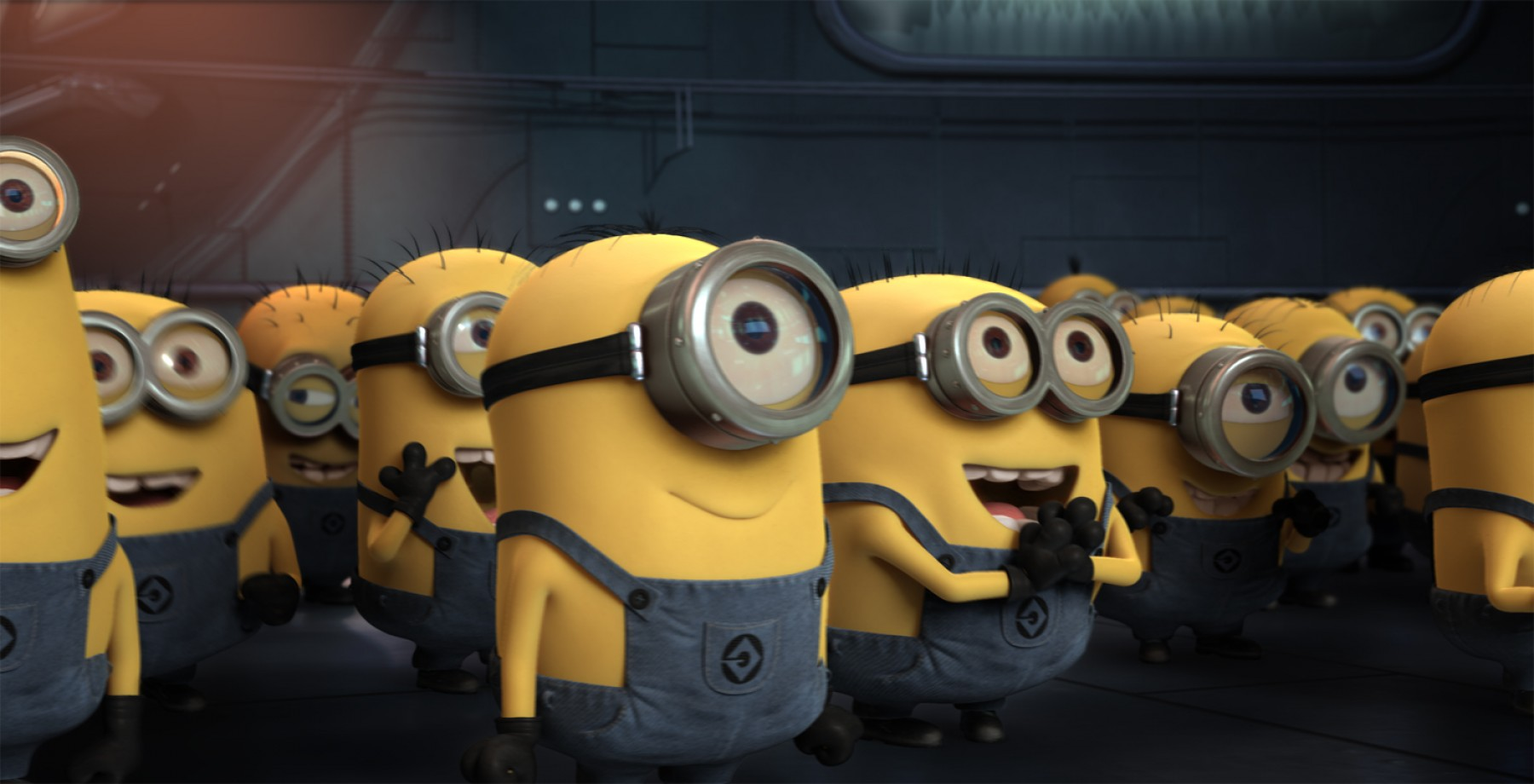 Animated Despicable Me Vector: Film Visits Illumination Entertainment And The Editing Room Of Despicable Me
