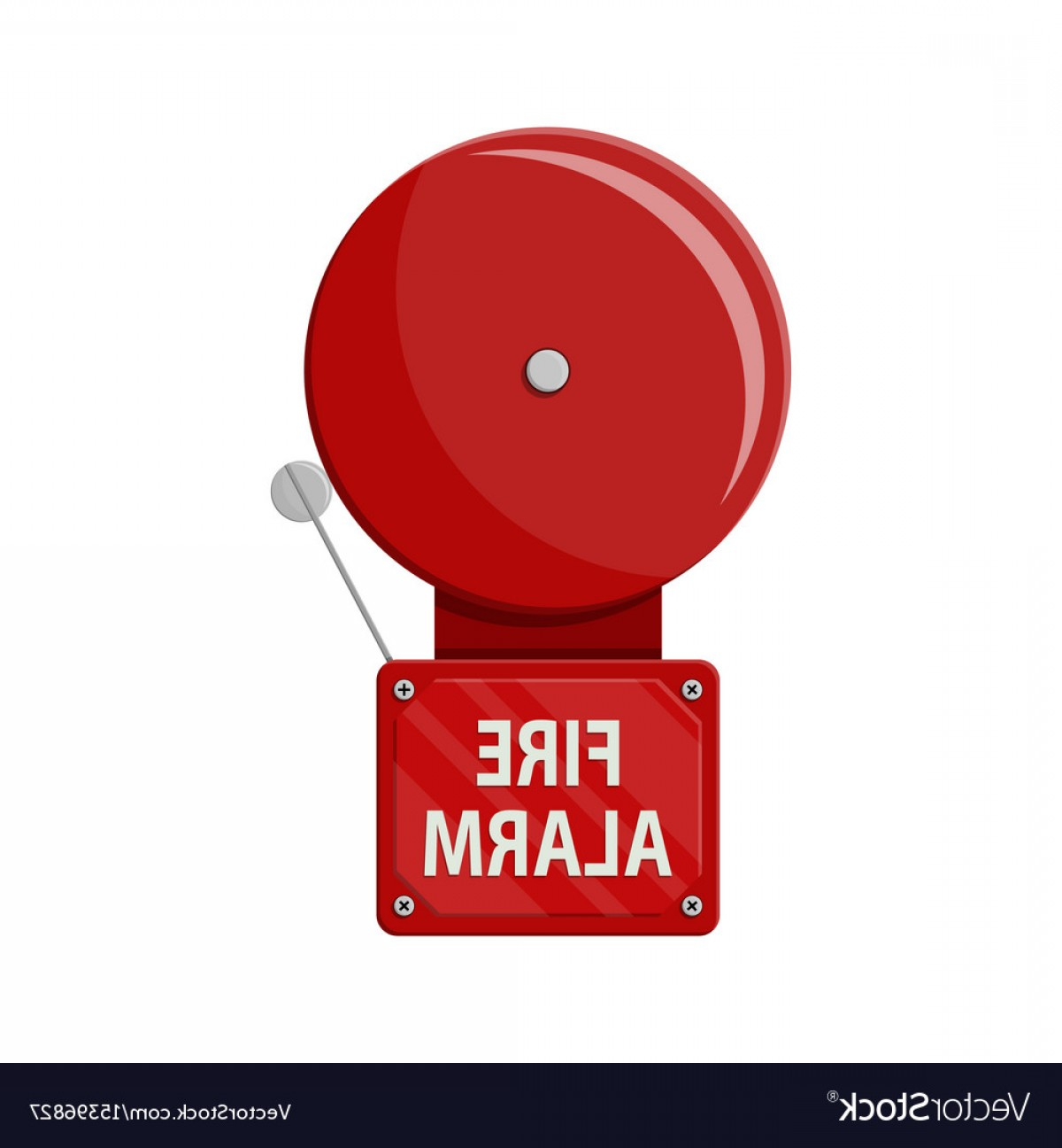 Fire Alarm Vector: Fire Alarm System Fire Equipment Vector