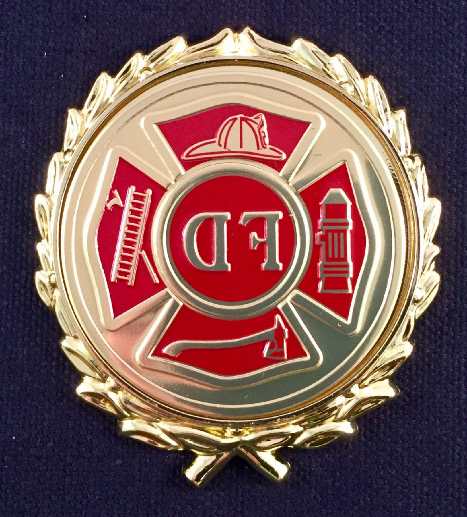 Maltese Cross Solid Vector: Fire Department Fd Maltese Cross Emblem