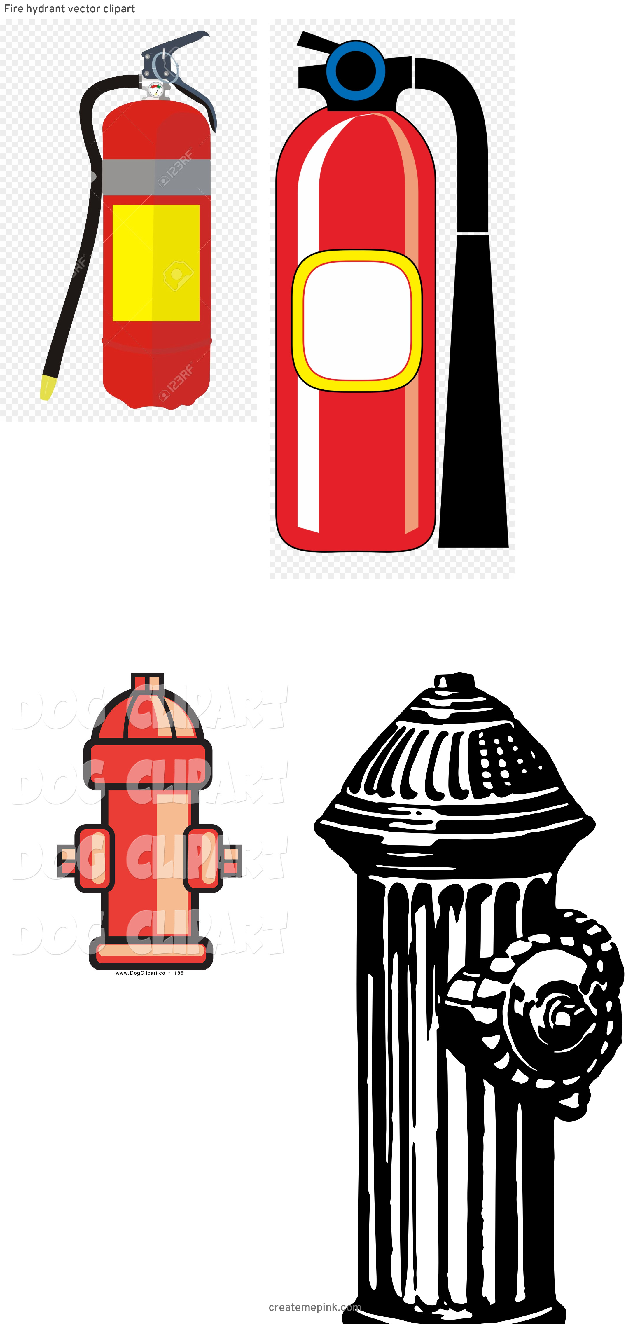 Fire Hydrant Vector Clip Art: Fire Hydrant Vector Clipart
