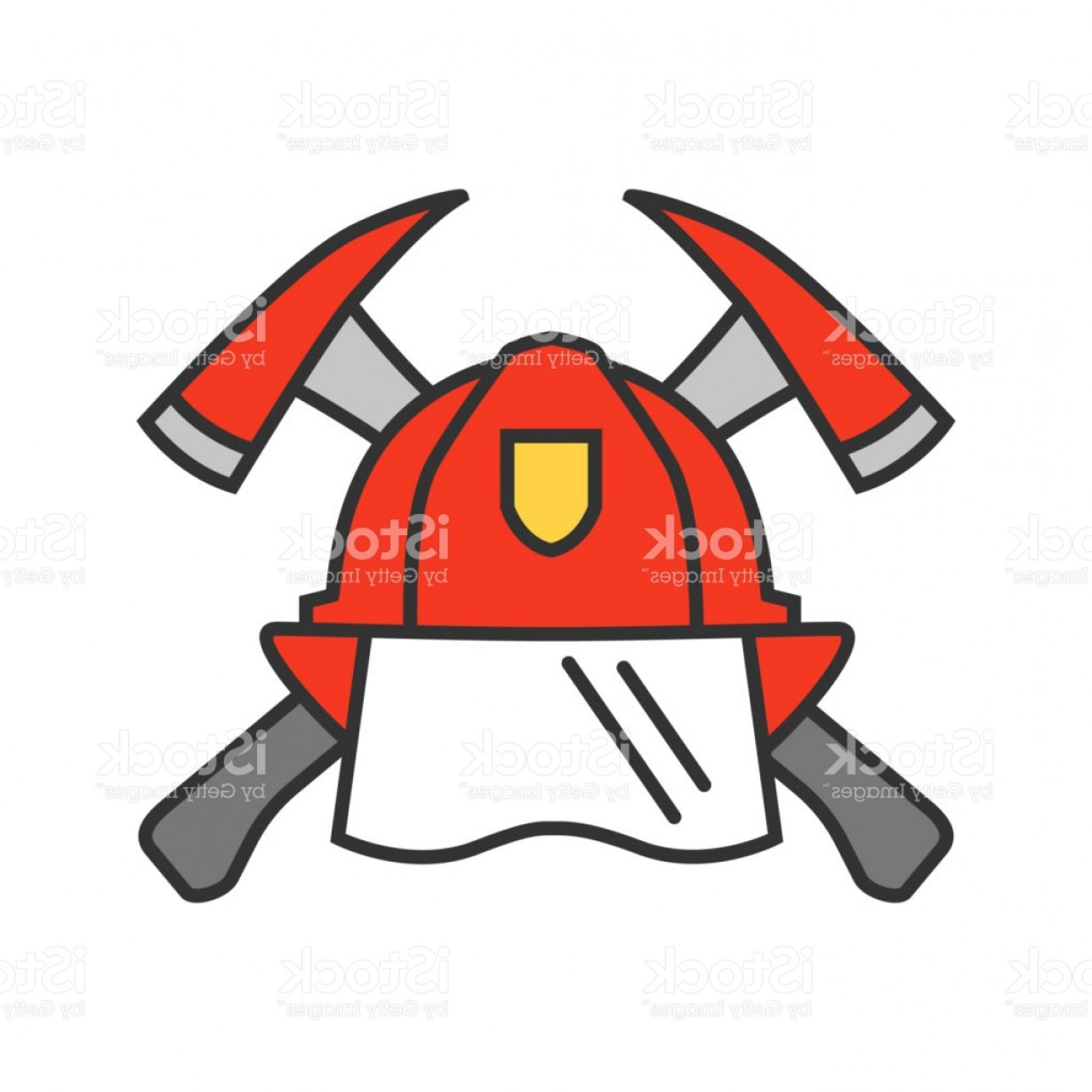 Fire Maltese Vector: Firefighters Maltese Cross Icon Gm