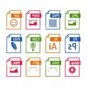 File Extension Vector Art: File Format Icon Set Images File Type Icons Pictures File Format Icons Gm