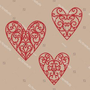 Vector Filigree Heart: Photobeautiful Filigree Paper Heart On A White Background