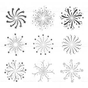 Vector-Based Grayscale Christmas: Abstract Vector Background Beautiful D Shiny
