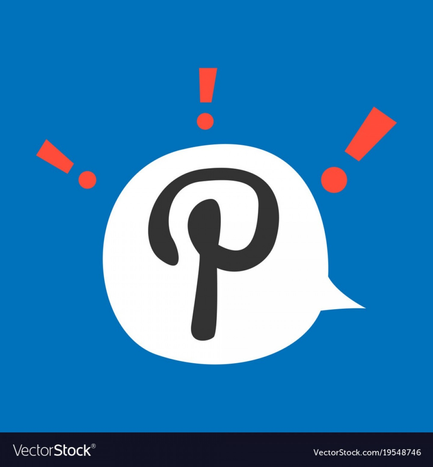 Total Recall Vector Red Jacket: Flat Icon Of Pinterest On Background With Shadow Vector