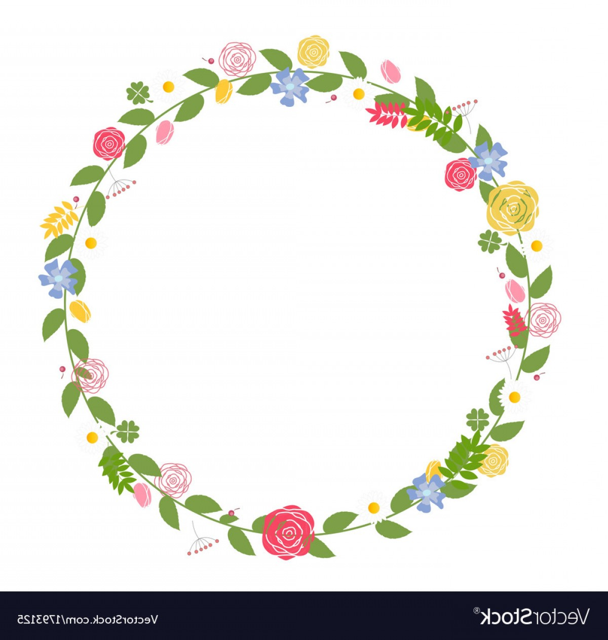 Birthday Card Vector Frame Designs: Floral Frame For Wedding And Birthday Card Vector