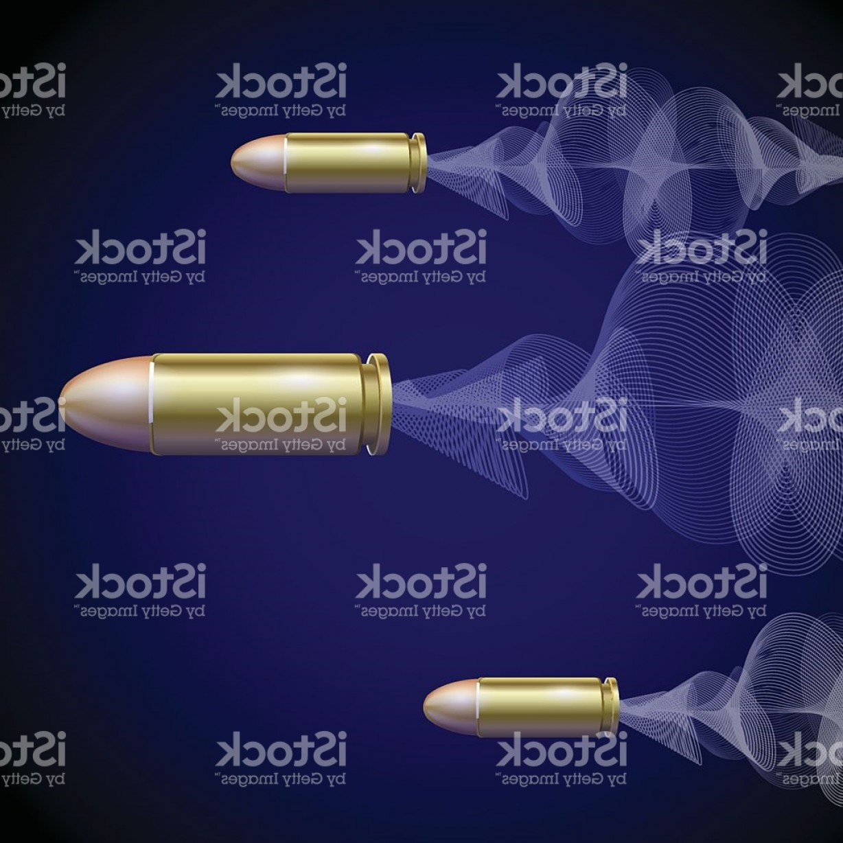 Vector Fly System: Fly Pistol Bullet Background Concept Vector Gm