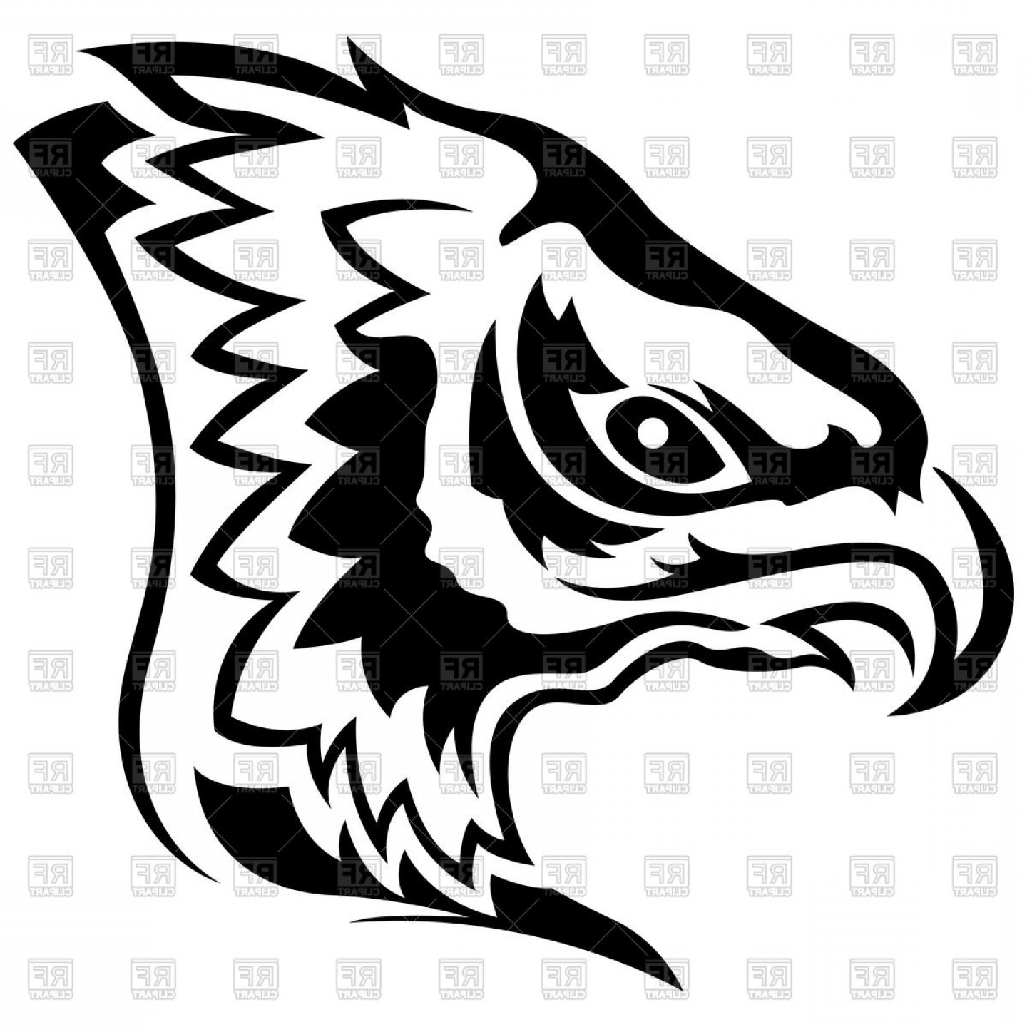 Falcon Silhouette Vector: Flying Falcon Silhouettes Vector Clipart