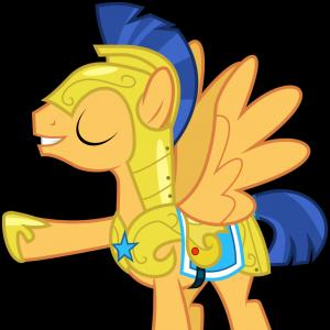 MLP Quill Vector: Flash Sentry Aka Brad Aka Dreamy Cutebottom