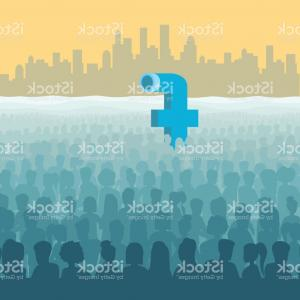 Periscope Logo Vector: Stock Illustration Yellow Submarine With Periscope Swimming