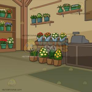 Inside Of Flower Vector: Flowers And Leaves Inside Pots Design Vector