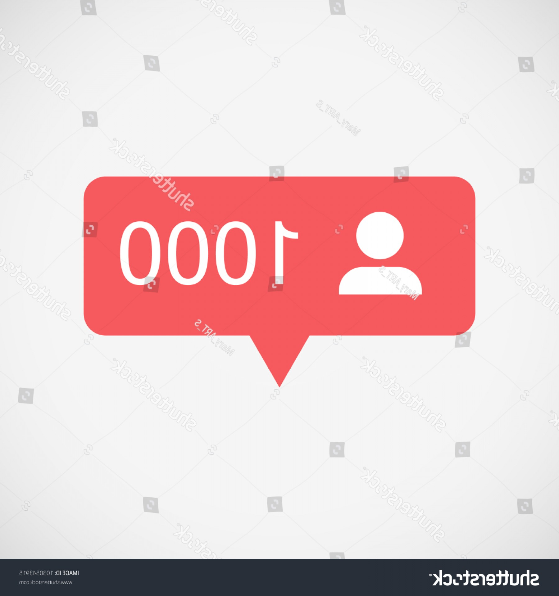 Official Instagram Icon Vector: Followers Notification Social Media Instagram
