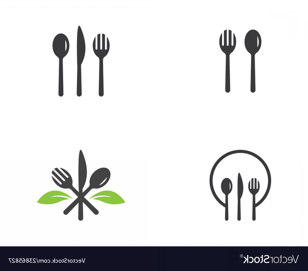 In Icon Stock Vector: Food Cover Icon Stock Vector