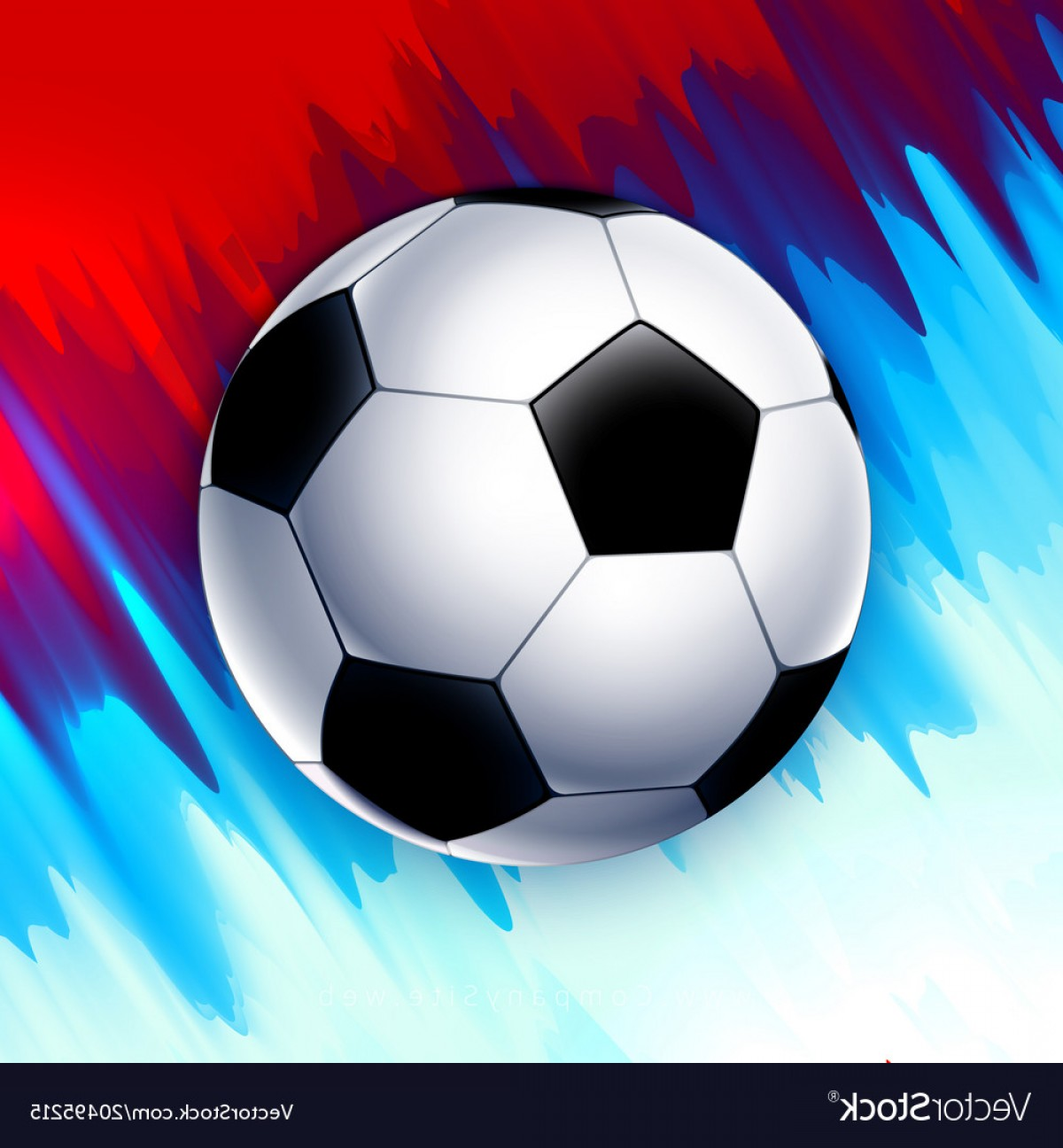 Football Vector Wallpaper: Football World Cup Russia Wallpaper Color Vector