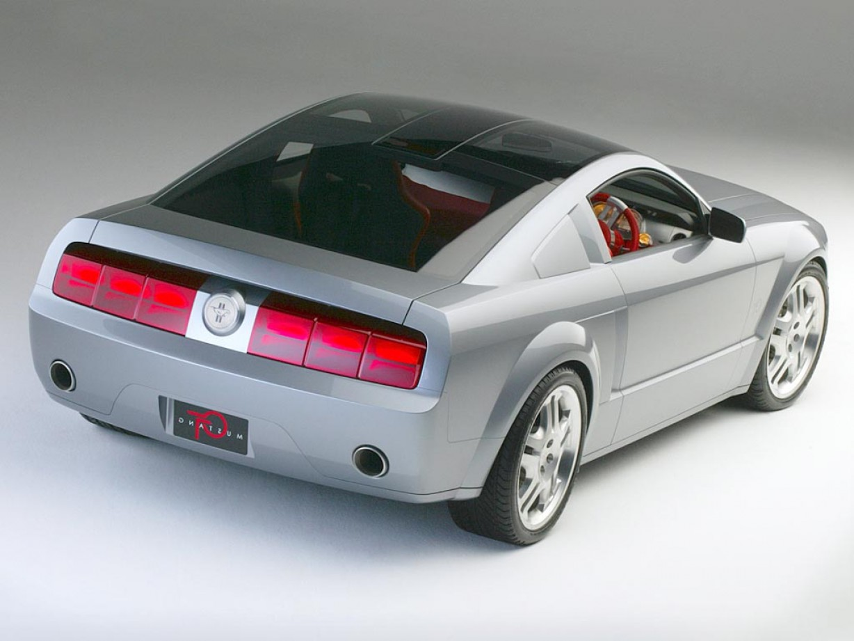 2005 Ford Mustang GT Drawing Vector: Ford Mustang Gt Coupe Concept