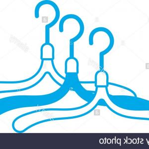 Gancho Vector: Stock Illustration Clothes Hanger Hook Isolated Icon Design Vector Illustration Graphic Image