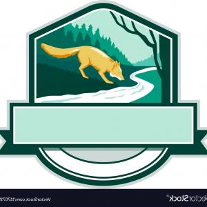 Creek Vector: Royalty Free Creek And Sunset Scenes Logos By Vector Tradition Sm