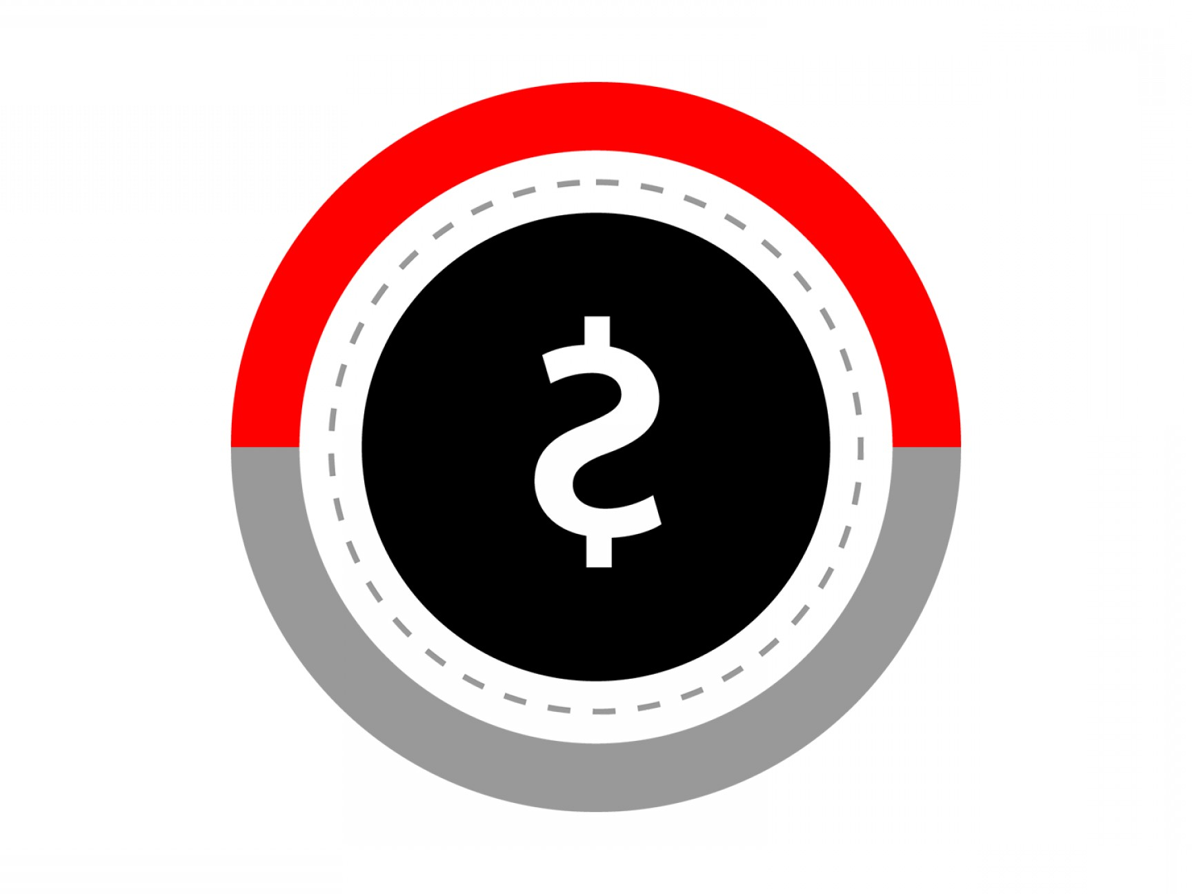 User Icon Vector Free: Free Dollar Red Round Icon Download