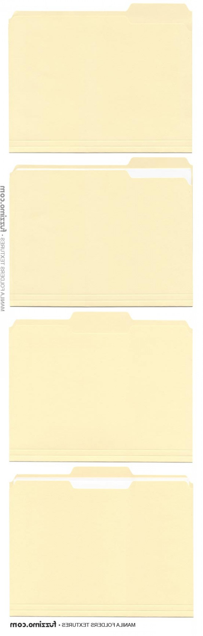 Folder Tab Vectors: Free Hi Res Manila File Folder Textures