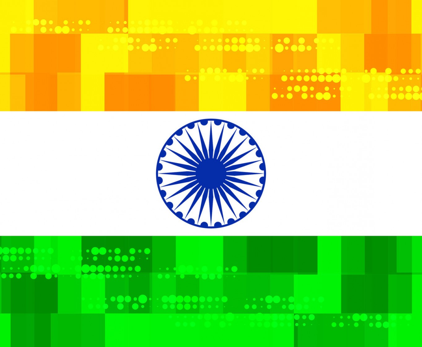India Flag Vector: Free Indian Flag Color Background