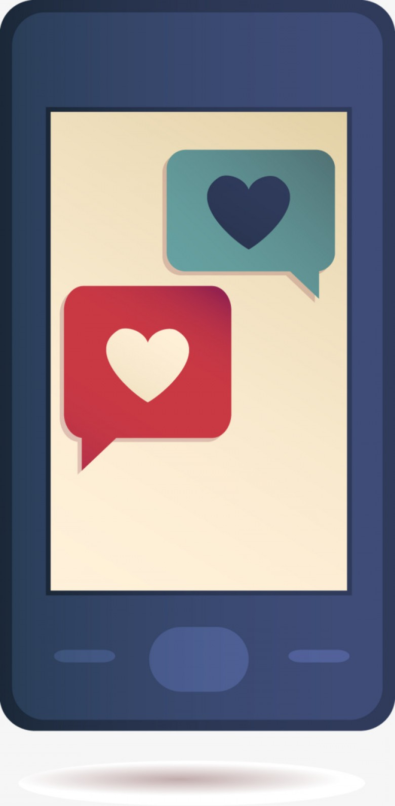 Vectores Para Descargar Gratis: Free Phone Vector Love To Pull Material Free Download
