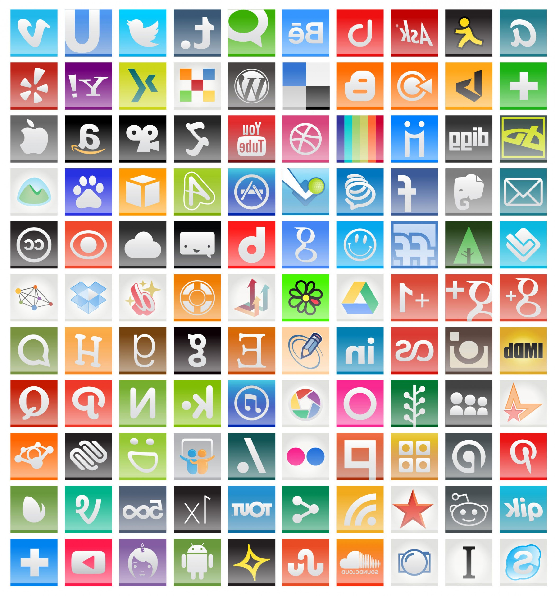 Vector Twitter Icon 2014: Free Social Media Icons For Vector Pngs