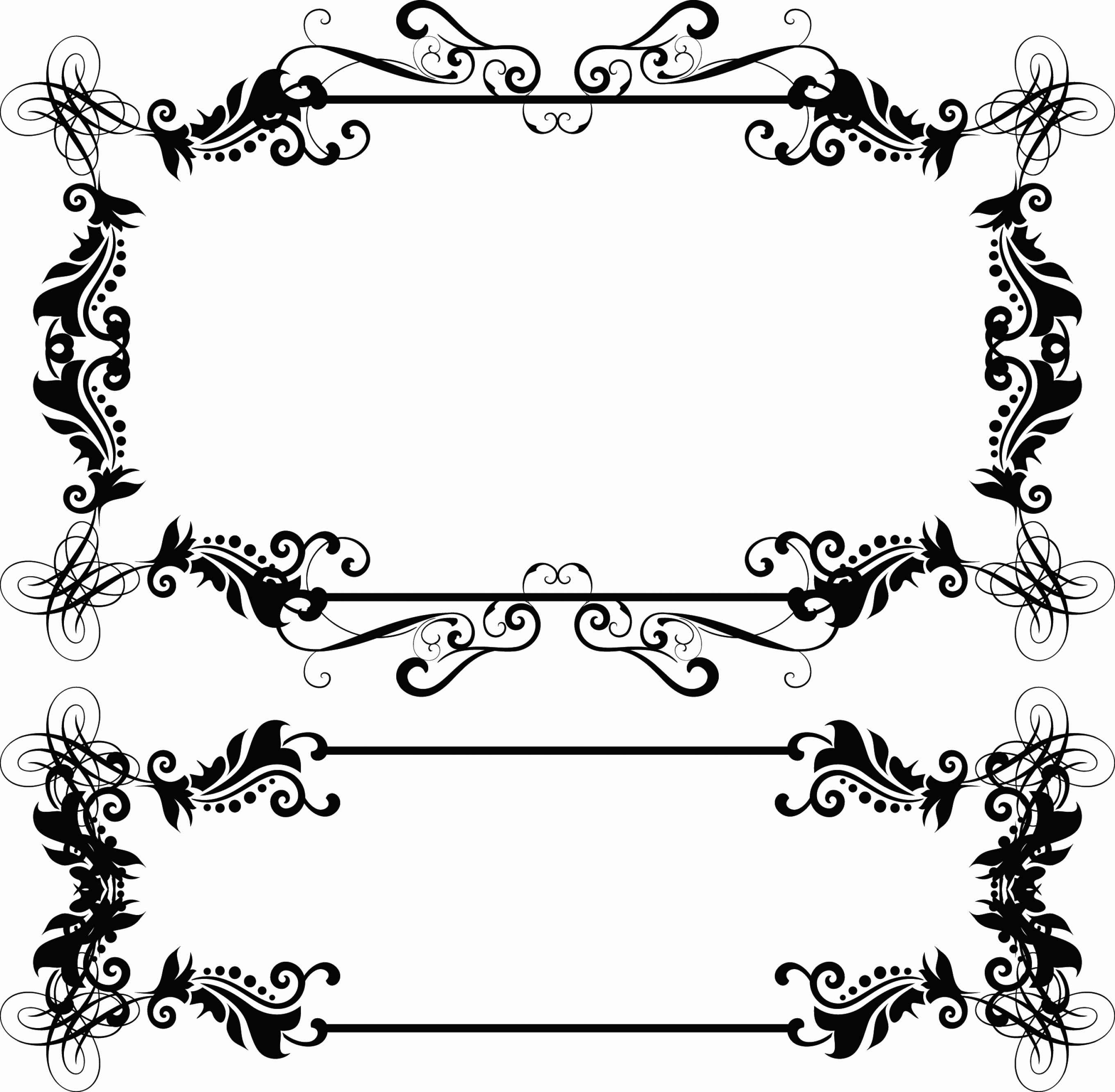 Vector Boarders Clip: Free Vector Borders And Frames Elegant Free Vector Boarders Download Free Clip Art Free Clip Art On