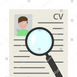 Resume Cartoon Vectors: Free Vector Graphics Download