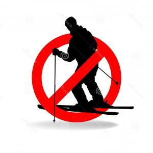 Not Allowed Vector: Freeride Not Allowed Vector Prohibiting Sign Freeride Not Allowed Prohibiting Symbol Image