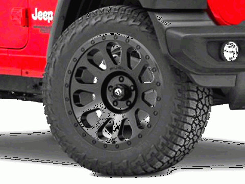 Vector Jeep JK: Fuel Wheels Jeep Wrangler Jl Vector Matte Black Wheel X D
