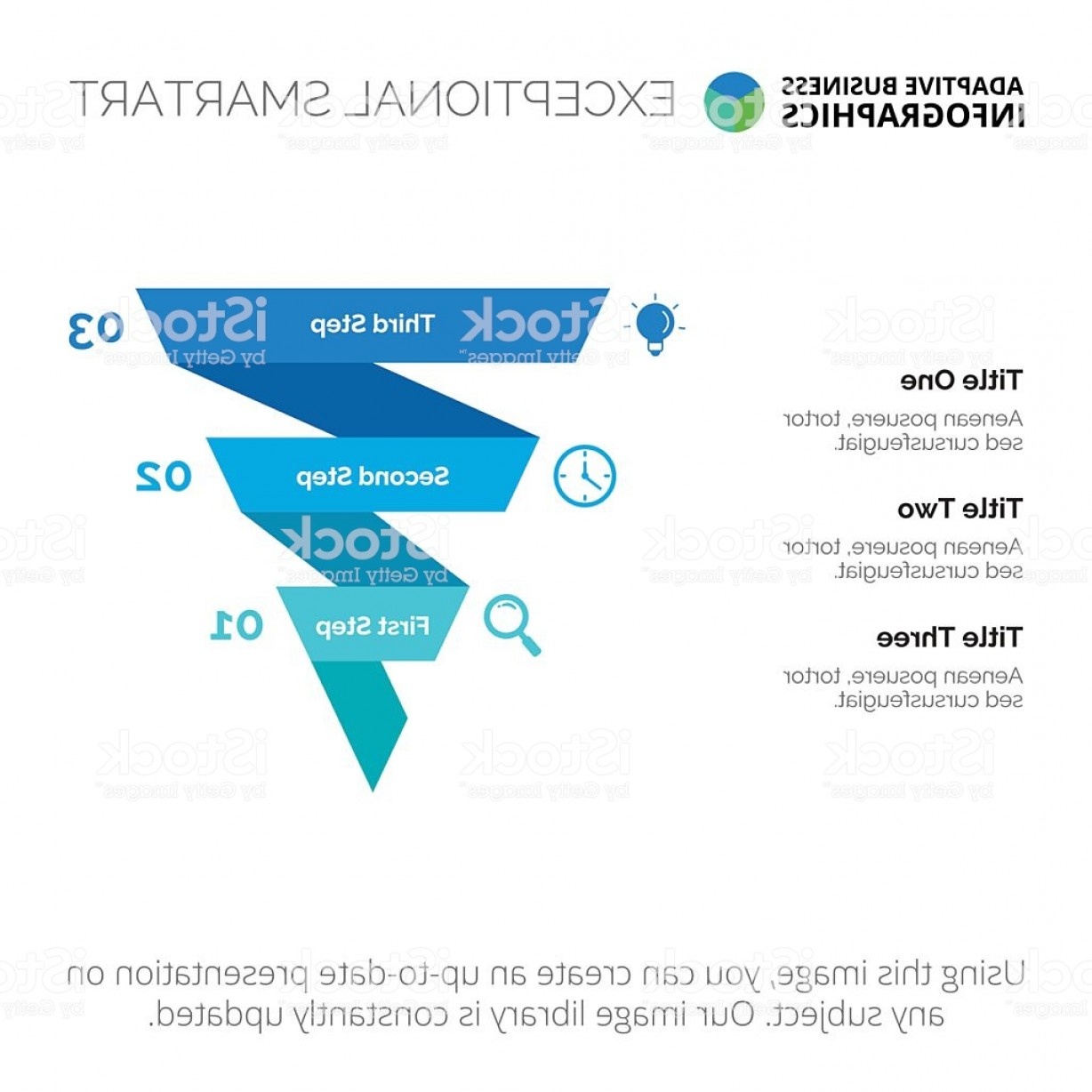 Vector Funnel Infographic: Funnel Infographic Diagram Template Gm