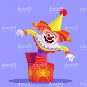 Joker Smile Vector Art: Three Dimensional Grimacing And Smiling Joker With Playing Cards Gm